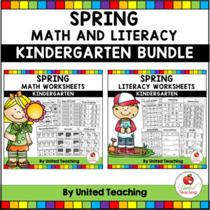 Spring Math and Literacy Activities for Kindergarten