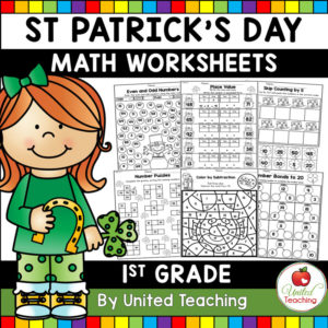 St. Patrick's Day Math Activities for 1st Grade