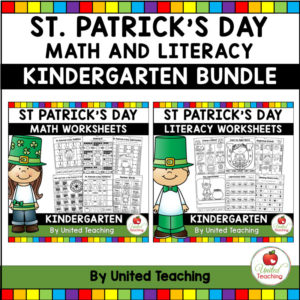 St. Patrick's Day Math and Literacy Activities for Kindergarten