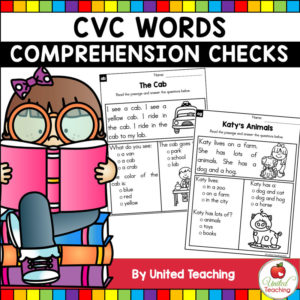 CVC Words Comprehension Checks