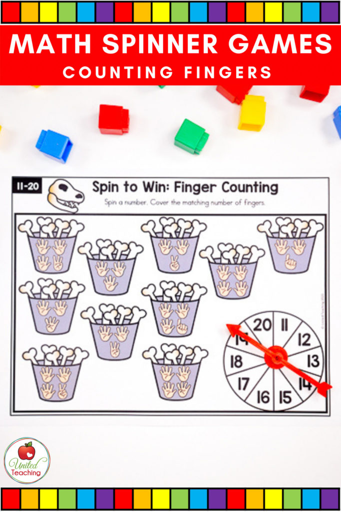 Finger Counting math game