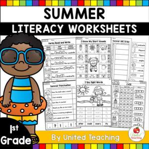 Summer-Literacy-Review-1st-Grade