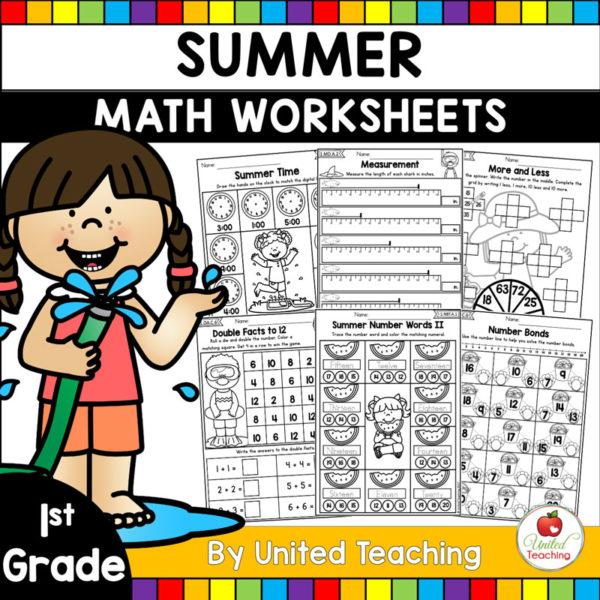 Summer-Math-Review-1st-Grade