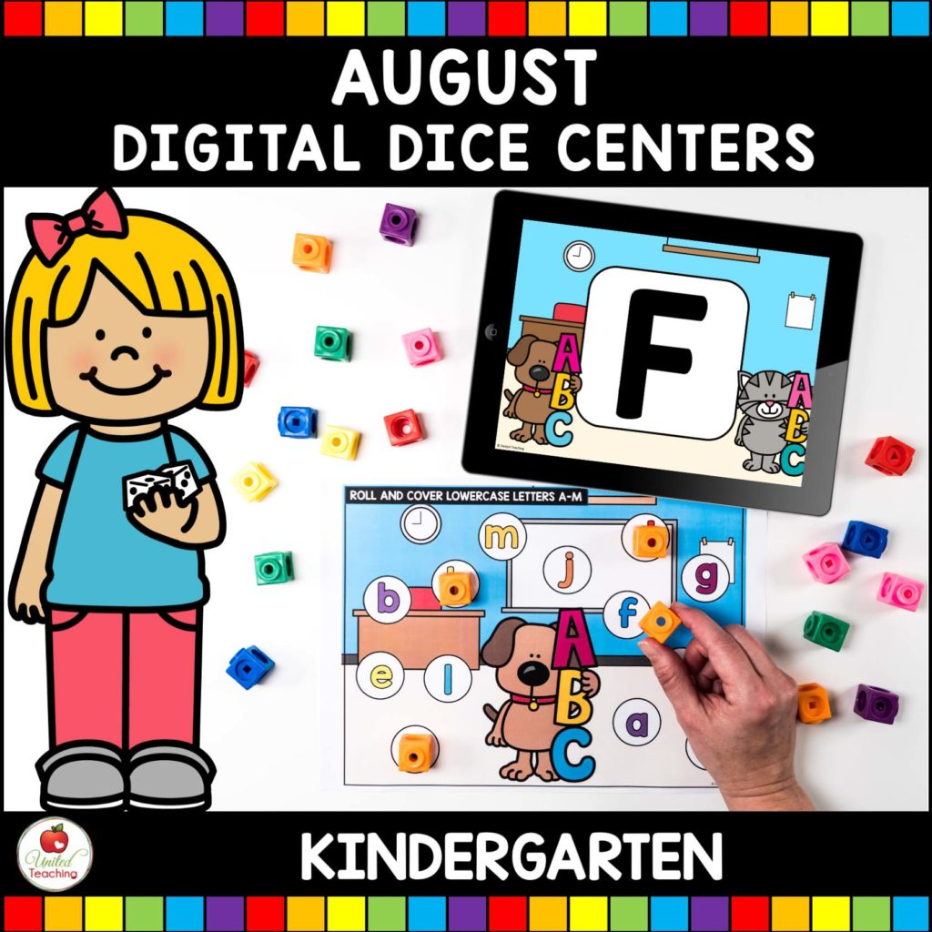 August Digital Dice Centers Cover